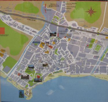 Kort Over Malaga Centrum   stoffeerderijrozendal